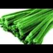 Zsenília drót - 6mm Zöld 6x300mm - 10db/cs