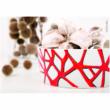Marabu Porcelain & Glas - Porcelán és üveg filctoll - Glitter-Red - 532 - 1-2mm