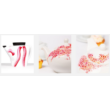 Marabu Porcelain 15ml - Glitter-Red - 532