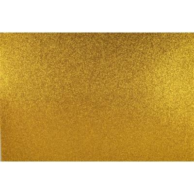 Dekorgumi 40x60 cm, glitteres arany