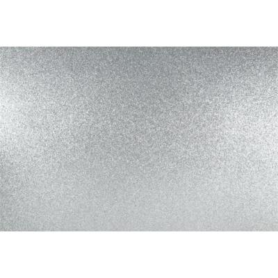 Dekorgumi 40x60 cm, glitteres ezüst