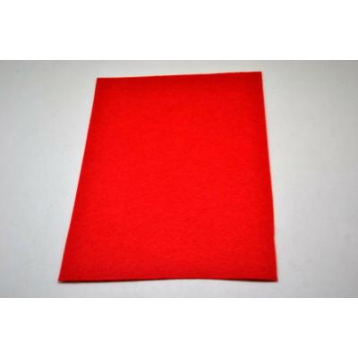 Barkácsfilc 20x30 cm, élénk piros