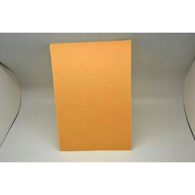 Barkácsfilc 20x30 cm, halvány barackszín