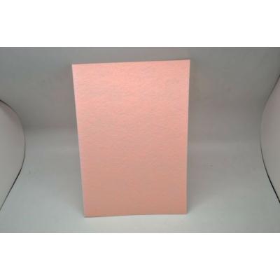 Barkácsfilc 20x30 cm, halvány rózsaszín
