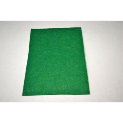 Barkácsfilc 20x30 cm, közép zöld