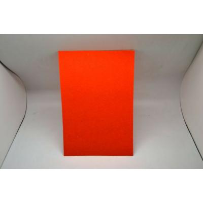 Barkácsfilc 20x30 cm, sötét narancssárga
