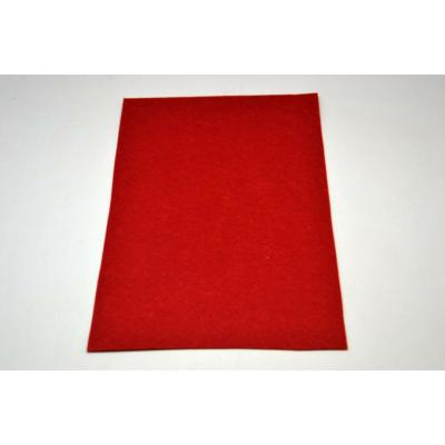 Barkácsfilc 20x30 cm, sötét piros