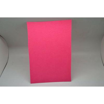 Barkácsfilc 20x30 cm, sötét rózsaszín