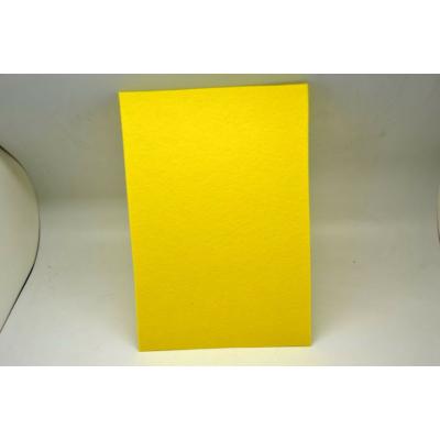 Barkácsfilc 20x30 cm, citromsárga
