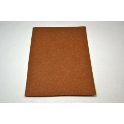 Barkácsfilc 20x30 cm, gesztenye barna