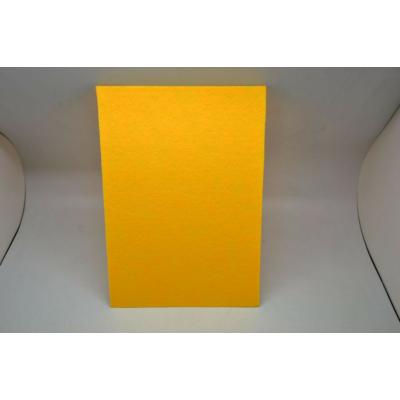 Barkácsfilc 20x30 cm, napsárga