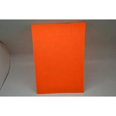 Barkácsfilc 20x30 cm, neon narancssárga