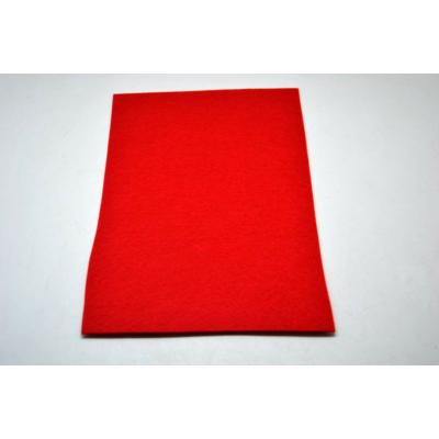 Barkácsfilc 20x30 cm, piros