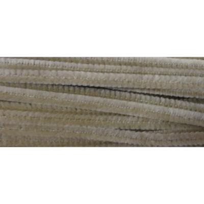 Zsenília drót - 6mm Világos Barna 6x300mm - 10db/cs