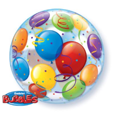 22 inch-es Léggömb Mintás - Balloons Bubble Lufi
