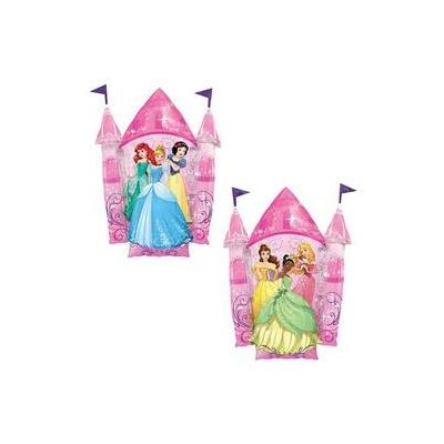 35 inch-es Multi-Princess Castle -Disney Hercegnők Kastélya Super Shape Fólia Lufi