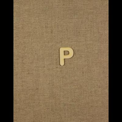 Fabetű, faszám - P - 2db/cs, 33x2 mm