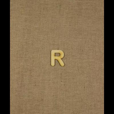 Fabetű, faszám - R - 2db/cs, 33x2 mm