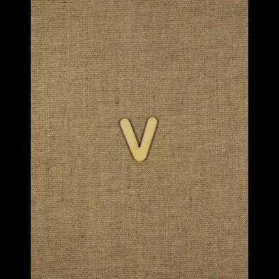 Fabetű, faszám - V - 2db/cs, 33x2 mm