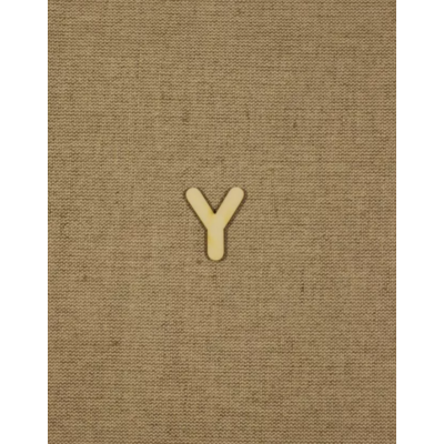 Fabetű, faszám - Y - 2db/cs, 33x2 mm