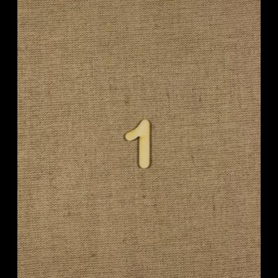 Fabetű, faszám - 1 - 2db/cs, 33x2 mm