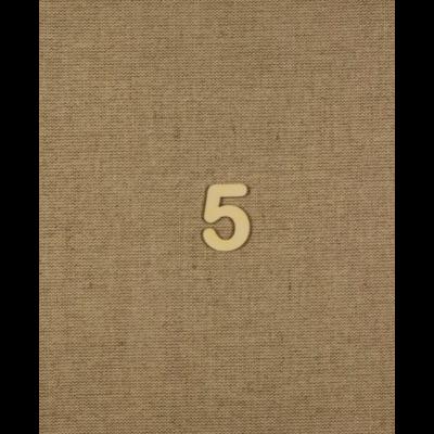 Fabetű, faszám - 5 - 2db/cs, 33x2 mm