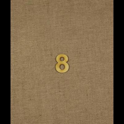 Fabetű, faszám - 8 - 2db/cs, 33x2 mm