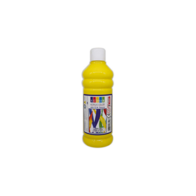 Südor akrilfesték 500ml - citromsárga