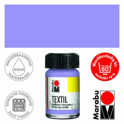 Marabu Textilfesték 15ml - Lilac - 035