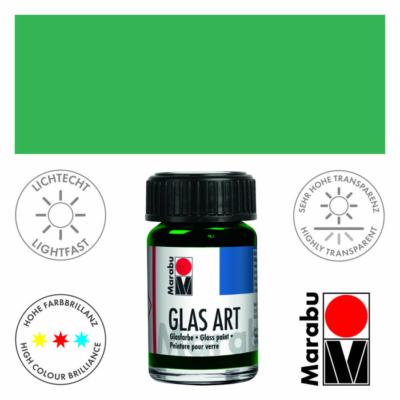 Marabu Glas-Art üvegfesték 15ml - Light Green - 463