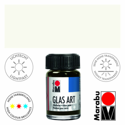 Marabu Glas-Art üvegfesték 15ml - White - 470