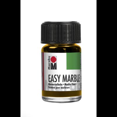 Marabu Easy Marble 15ml - Márványozó festék - Medium Yellow - 021