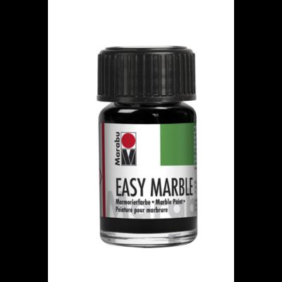 Marabu Easy Marble 15ml - Márványozó festék - Black - 073