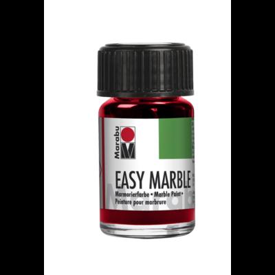 Marabu Easy Marble 15ml - Márványozó festék - Cherry Red - 031