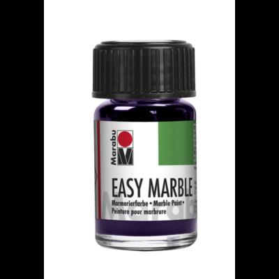 Marabu Easy Marble 15ml - Márványozó festék - Aubergine - 039