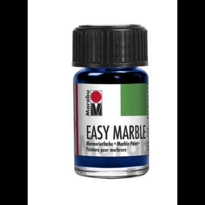 Marabu Easy Marble 15ml - Márványozó festék - Dark Ultramarine - 055