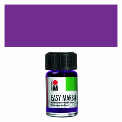 Marabu Easy Marble 15ml - Márványozó festék - Amethyst - 081