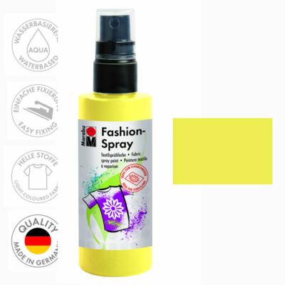 Marabu Fashion Spray - Textilfesték Spray - Lemon - 020