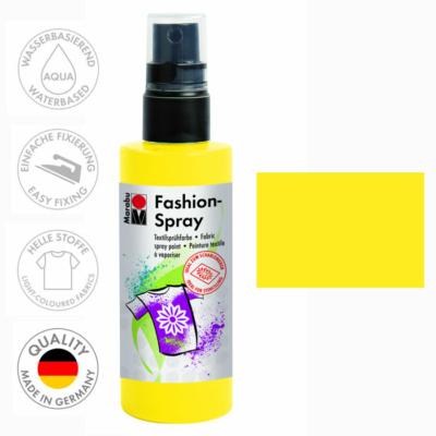 Marabu Fashion Spray - Textilfesték Spray - Sunshine Yellow - 220