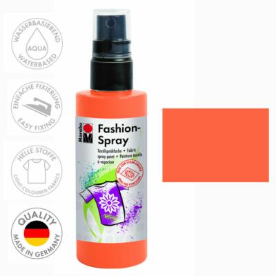 Marabu Fashion Spray - Textilfesték Spray - Tangerine - 225