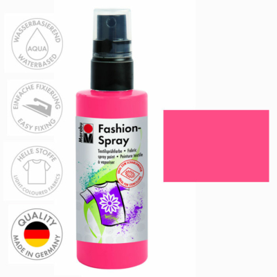 Marabu Fashion Spray - Textilfesték Spray - Flamingo - 212