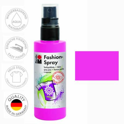 Marabu Fashion Spray - Textilfesték Spray - Pink - 033