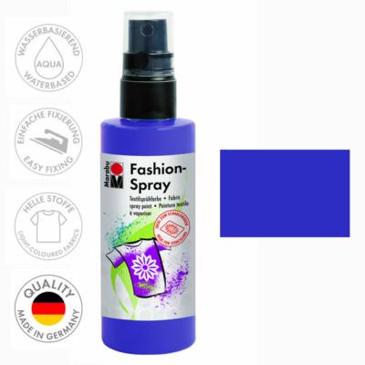 Marabu Fashion Spray - Textilfesték Spray - Plum - 037