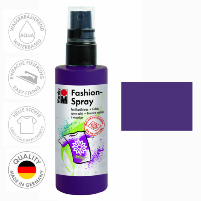 Marabu Fashion Spray - Textilfesték Spray - Aubergine - 039