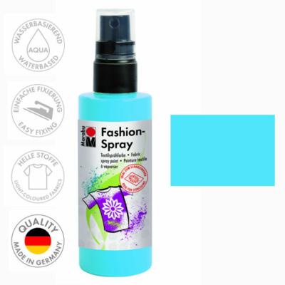 Marabu Fashion Spray - Textilfesték Spray - Sky Blue - 141
