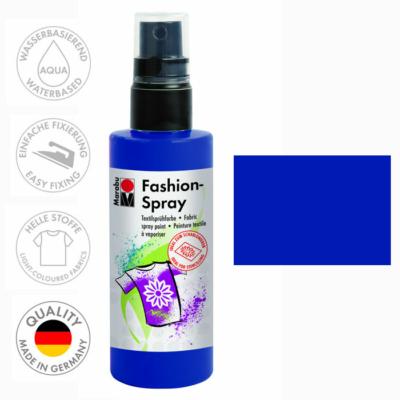 Marabu Fashion Spray - Textilfesték Spray - Night Blue - 293
