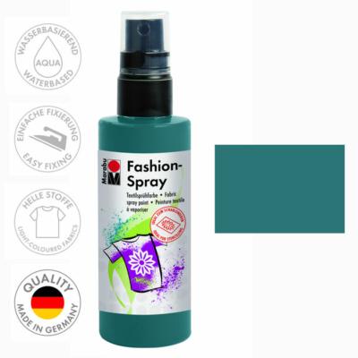 Marabu Fashion Spray - Textilfesték Spray - Petrol - 092