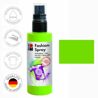 Marabu Fashion Spray - Textilfesték Spray - Reseda - 061