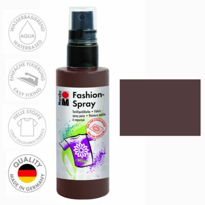 Marabu Fashion Spray - Textilfesték Spray - Cocoa - 295