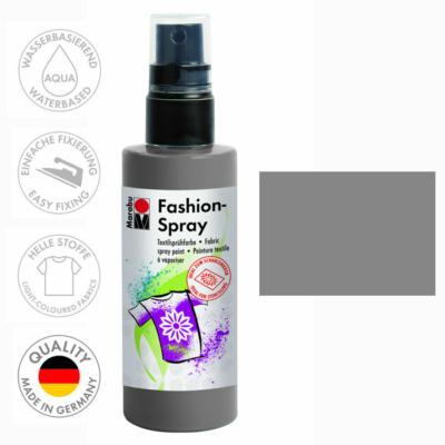Marabu Fashion Spray - Textilfesték Spray - Grey - 078